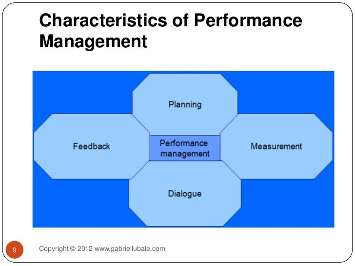 introducing performance management Any performance management process broadly involves three stages - goal setting stage, encouraging stage and the stage of rewards and consequences.