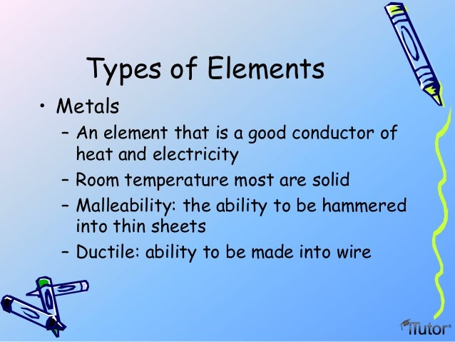 Which Element At Room Temperature Is A Poor Conductor