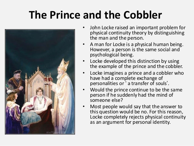the prince and the cobbler locke summary