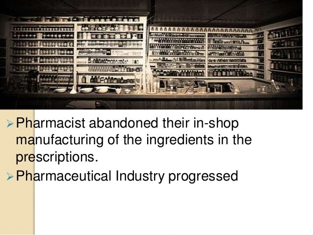 Introduction to pharmacy slide