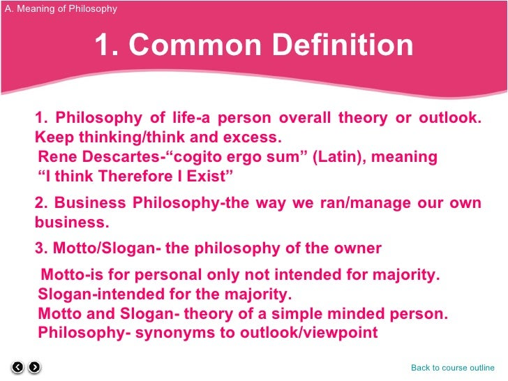 "philosophy definition essay However, calling buddhism a philosophy is pretty accurate one definition of  philosophy from dictionarycom is ""the rational investigation of the."