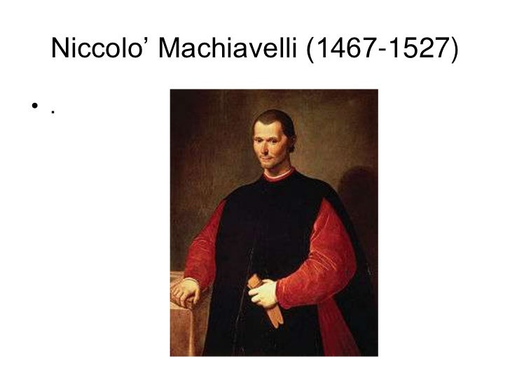 """an introduction to the life of niccolo machiavelli a political genius In particular, across the two works, machiavelli consistently and clearly distinguishes between a minimal and a full conception of """"political"""" or """"civil"""" order, and thus constructs a hierarchy of ends within his general account of communal life."""