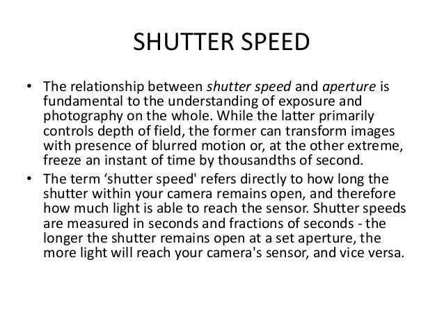 • When looking to keep images sharp, a good general rule of thumb is thus - the maximum shutter speed you can use is 1/ yo...