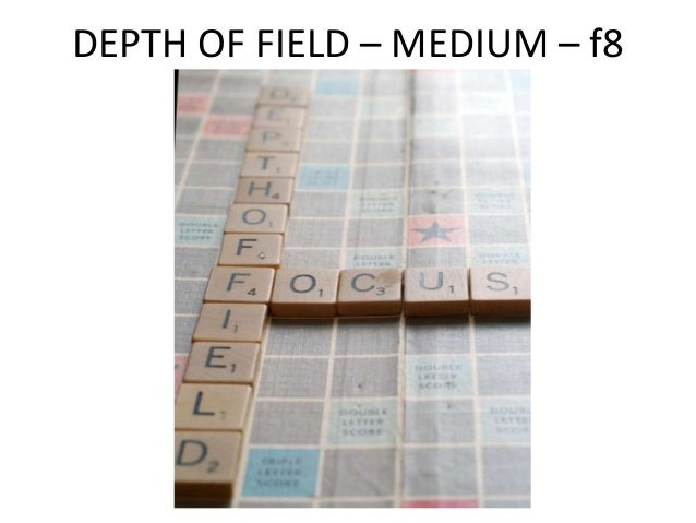 DEPTH OF FIELD – SHALLOW – f1.8