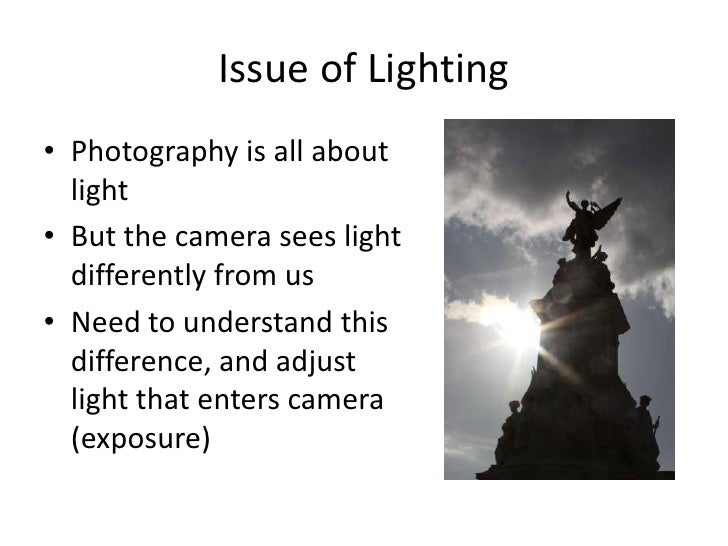 Introduction To Photography (Wset) Slide 3