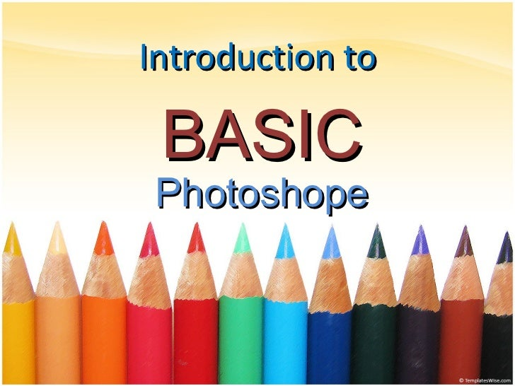 Introduction to BASIC Photoshope