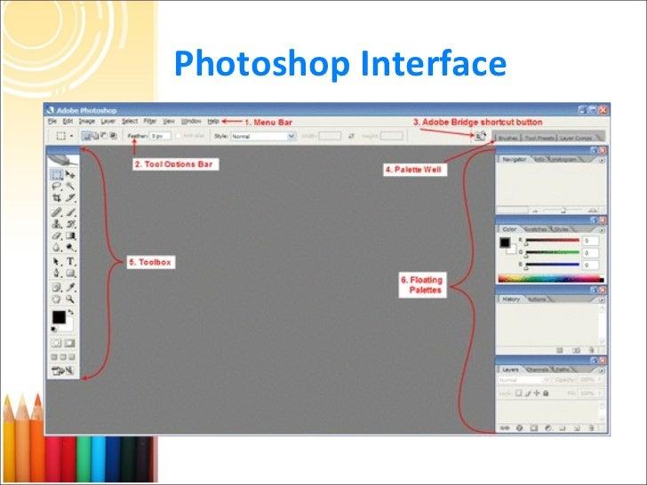 Adobe Photoshop Interface Images