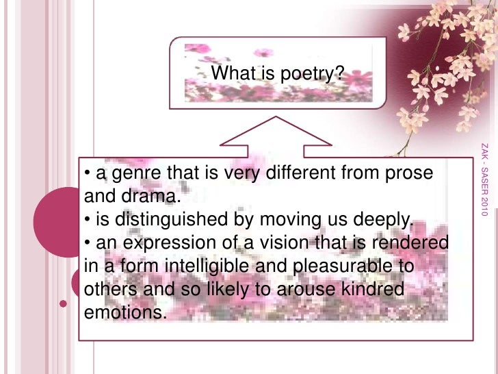 Introduction To Poetry Slide 2