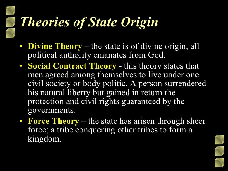examples of political theories