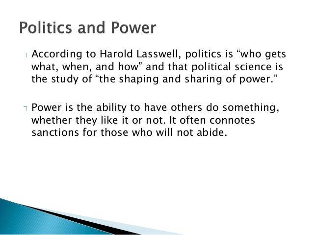 what is political science definition