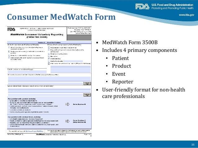 Introduction to post marketing drug safety surveillance fda 2-11-14