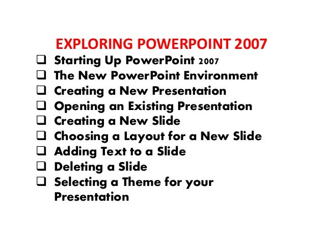INSERTING OBJECTS INTO YOUR PRESENTATIONS AND FORMAT OBJECTS  Inserting Pictures into Your Presentation and Format  Inse...