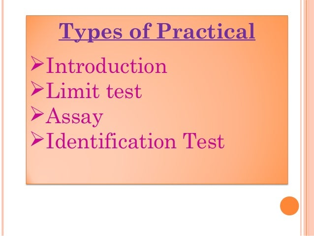 Introduction to Pharmaceutical Practical Chemistry-i