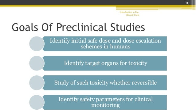 preclinical screening of trypanocidal drugs Why cancer treatment research is critical to stages of preclinical drug the available formulary list and test them in new preclinical or.