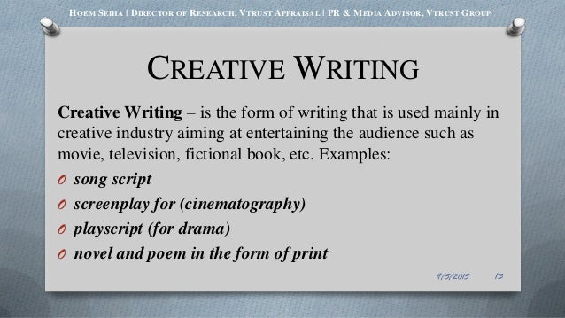 intro to creative writing fiu Master of fine arts in creative writing (poetry)  english writing tutor, florida  international university, miami, fl august 2003-may  crw 3010: introduction  to creative writing: guidance and criticism for beginners in writing.