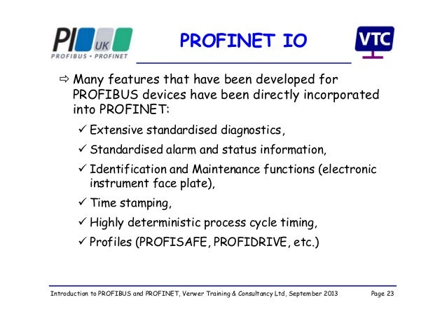 Entfernungsmesser Profinet S Profinet Io Professional: Introduction To PROFIBUS And PROFINET