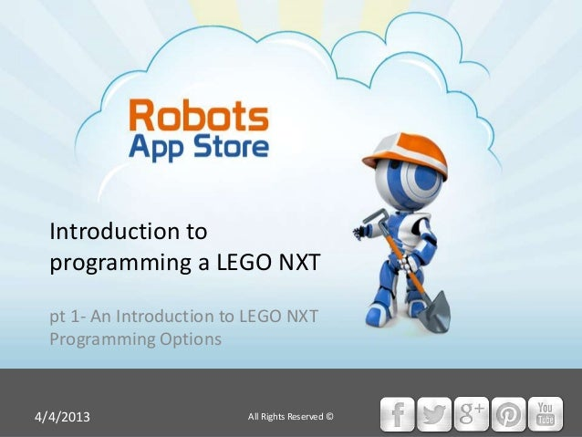 HOW TO: Program a LEGO NXT, pt 1- an introduction to LEGO