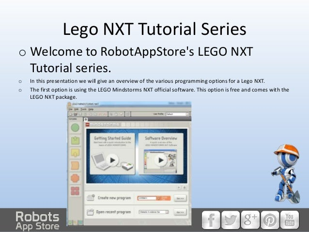 HOW TO: Program a LEGO NXT, pt 1- an introduction to LEGO NXT program…