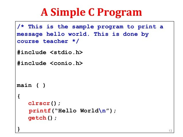 Introduction to programming with c,
