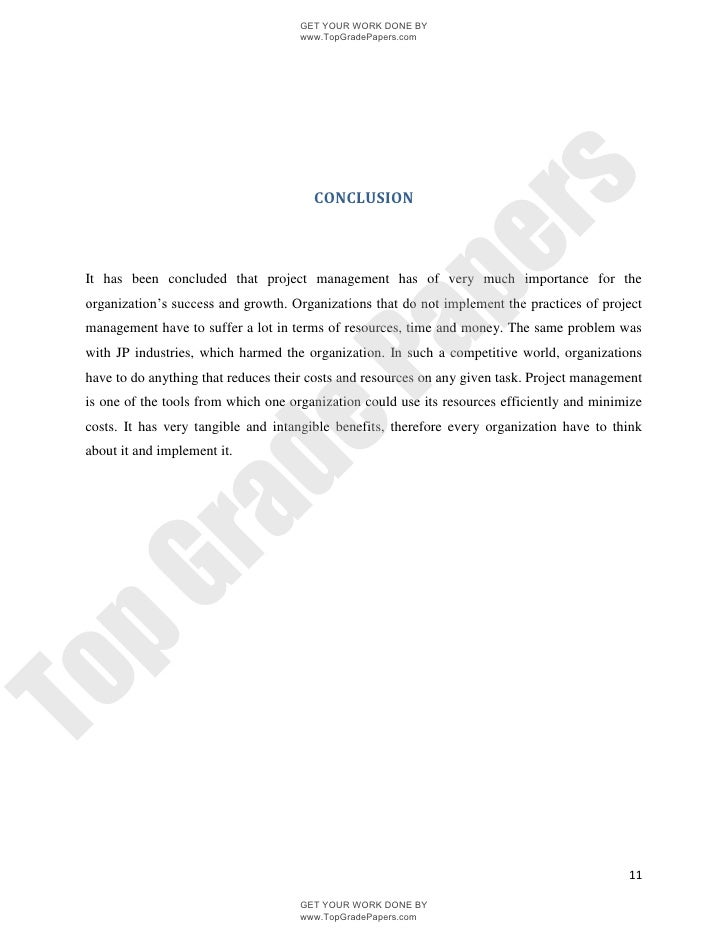introduction to project management academic essay assignment  topgradepapers com 11