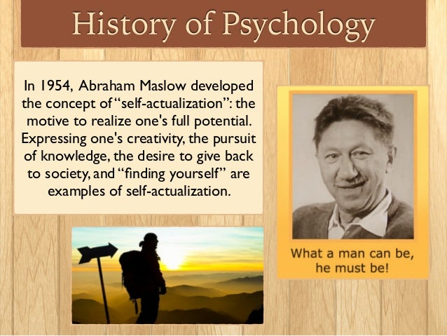 abraham maslow introduction to early childhood 1 application of maslow's hierarchy needs to education table of contents 1  who is abraham maslow  introduction in this essay,.