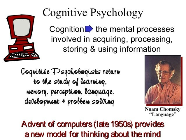 an overview of clinical cognitive psychology Cognitive psychology publishes original empirical to cognitive psychologists and are written to be summary declaration of interest statement in the.