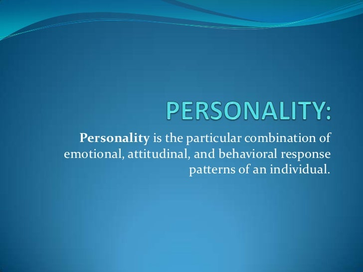 an introduction to the analysis of a personality Note: this handwriting analysis selftest here at   is freeit checks a handful of traits to give you a brief idea of the personality.