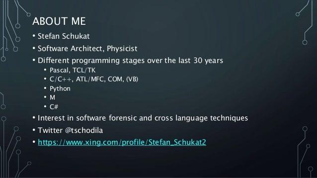 Introduction to Python.Net Slide 2