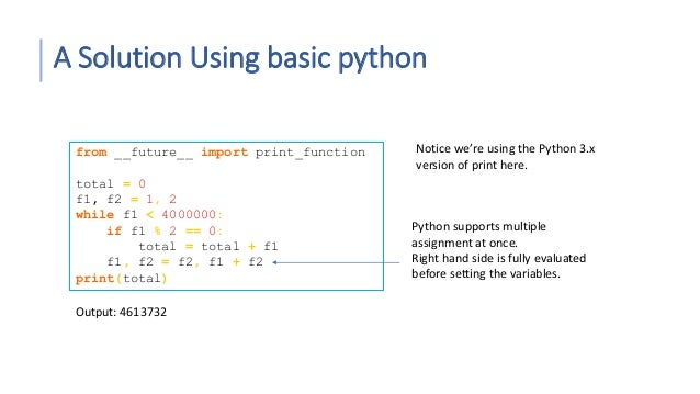 Introduction to python programming 2