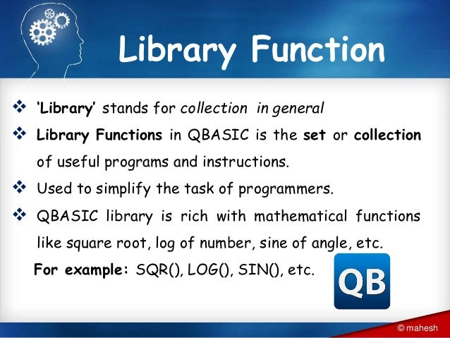 Introduction to QBASIC programming and basics