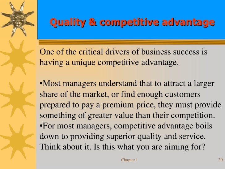 competitive advantageone competitive advantage of the Explore the strategies used to gain a competitive advantage.