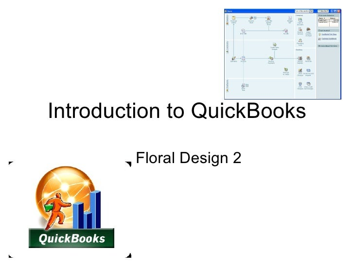 Introduction to QuickBooks Floral Design 2