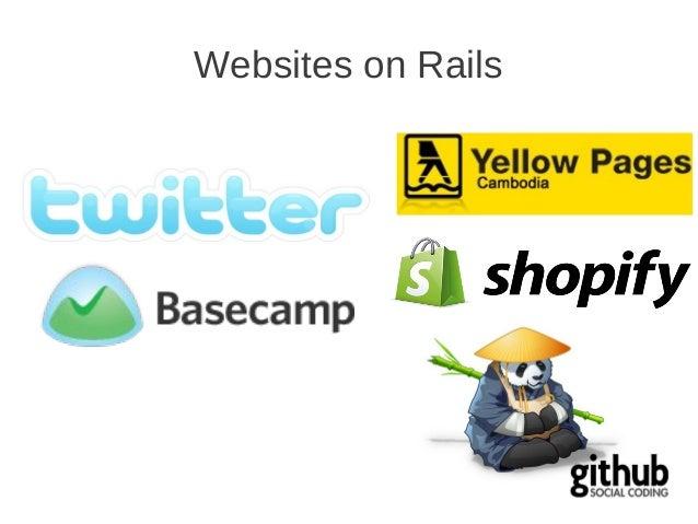 Websites on Rails