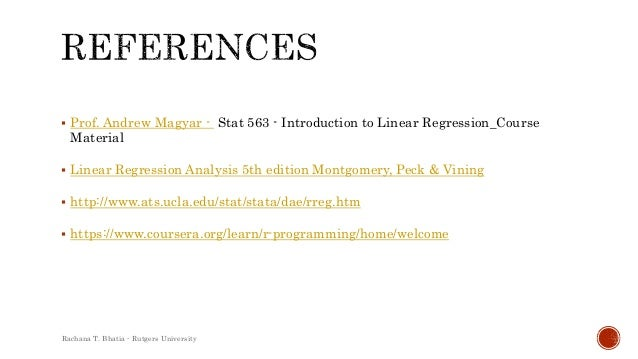 introduction to linear regression analysis montgomery 5th edition pdf