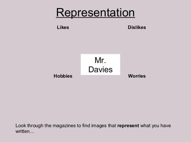 Representation                  Likes                           Dislikes                                 Mr.              ...