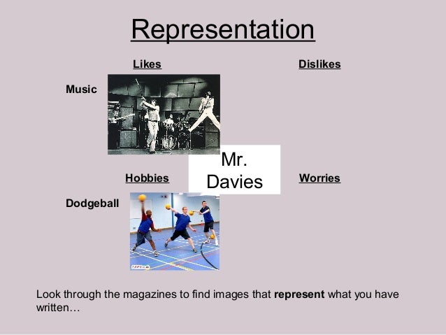 Representation                  Likes                           Dislikes     Music                                 Mr.    ...