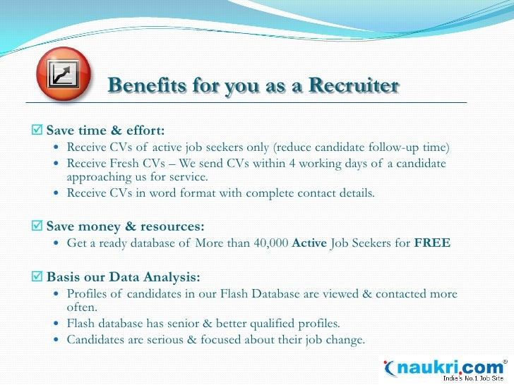 introduction to resume flash by naukri com