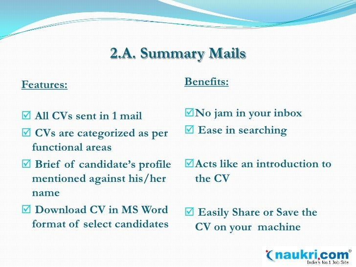 introduction to resume flash by naukri com