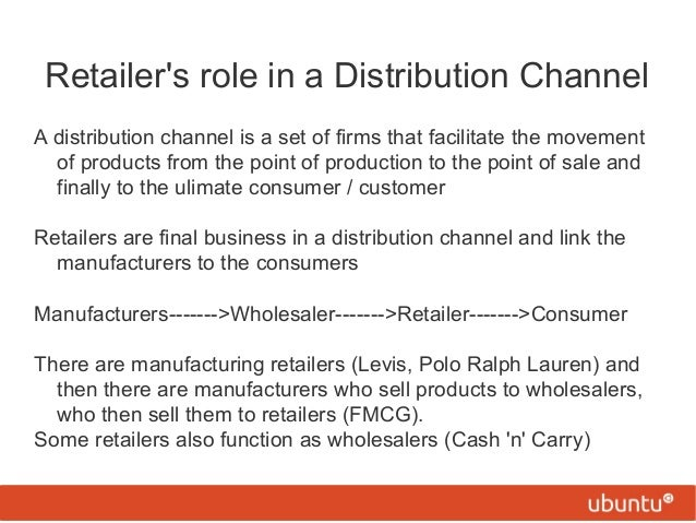 what are the distribution functions performed by wholesalers and retailers Definition physical distribution is the group of activities associated with the supply of finished product from the production line to the consumers the physical distribution considers many sales distribution channels, such as wholesale and retail, and includes critical decision areas like customer service, inventory, materials,.