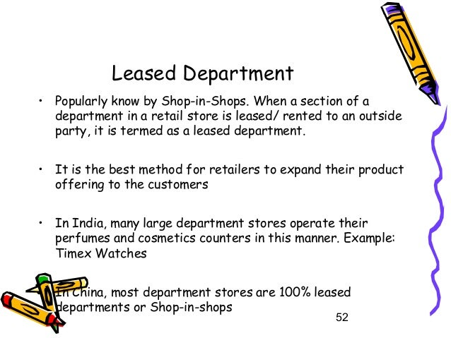 examples of departmental stores in india