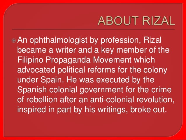 Introduction to Rizal Slide 3