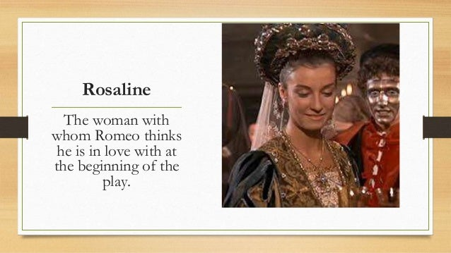 in romeo and juliet who is rosaline