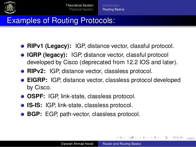 Introduction To Router And Routing Basics