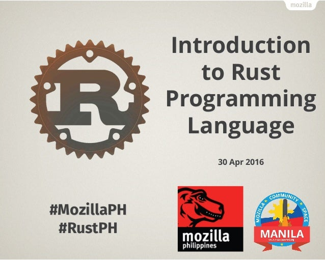 Introduction to Rust Programming Language