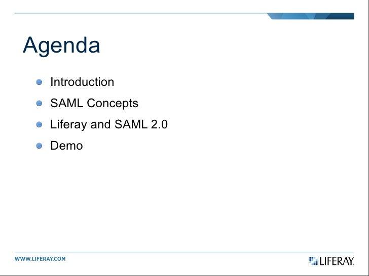 Introduction to SAML 2.0 Slide 2