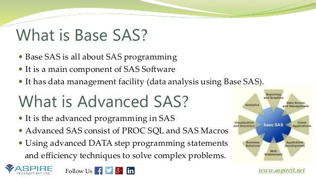 Introduction to SAS - Learn Base and Advanced SAS