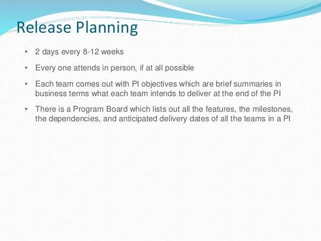 Program Board - Sample