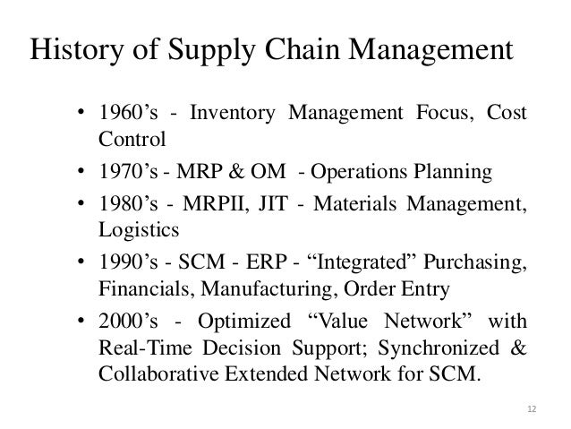 an introduction to supply chain management Course details of continuing education introduction to supply chain management (distance education) classes offered at george brown college in toronto, ontario, canada.