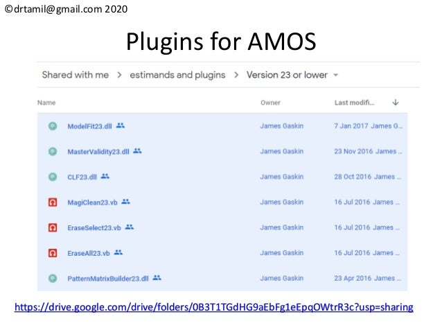 ©drtamil@gmail.com 2020 Plugins for AMOS https://drive.google.com/drive/folders/0B3T1TGdHG9aEbFg1eEpqOWtrR3c?usp=sharing