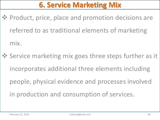 service marketing introduction Introduction of marketing and services marketing marketing is an organizational  function and a set-of process for creating communication and delivering value.